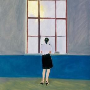 """173 Wu Yi, """"The Club"""", oil on canvas, 60 x 50 cm, 2005"""