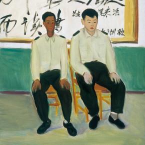 "174 Wu Yi ""New Recruits"" oil on canvas 60 x 50 cm 2005 290x290 - Wu Yi"