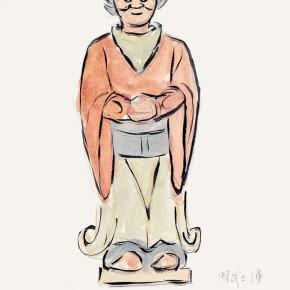 "177 Wu Yi ""The Pottery Figure of a Warrior in Ming Dynasty"" 290x290 - Wu Yi"