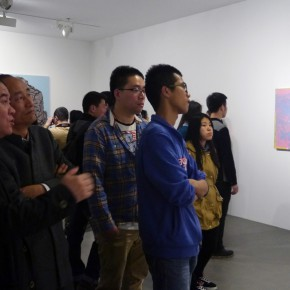 "18 Installation view of ""Big Face – New Works by Yue Minjun"""