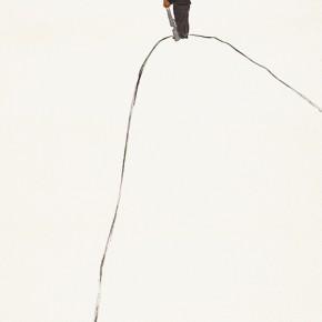 "180 Wu Yi ""New Mapo Group Paintings No.4"" ink on paper 170 x 98 cm 2004 290x290 - Wu Yi"