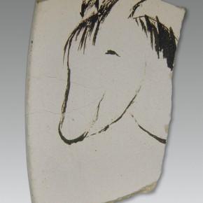 """186 Wu Yi, """"Happiness"""", pottery, 2003"""