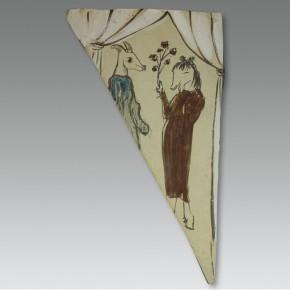 "189 Wu Yi, ""Festival"", pottery, 2003"