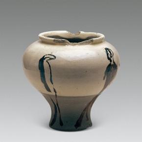 """193 Wu Yi, """"Gazing"""", porcelain, 2003"""