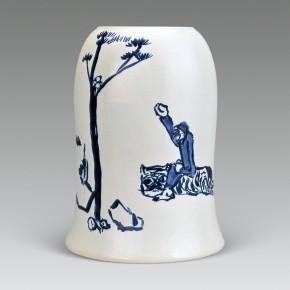 """198 Wu Yi, """"Wu Song"""", porcelain, 2001"""
