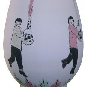 "199 Wu Yi, ""Festival"", porcelain, 2001"