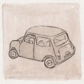 """212 Wu Yi """"Fiat"""" ink on paper 2002  290x290 - Wu Yi"""