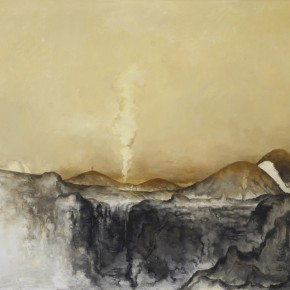 "26 Su Xinping Grey No.7 160×250cm 2012 290x290 - Pearl Lam Galleries Hong Kong presents group exhibition ""Spiritual as Mountains"""
