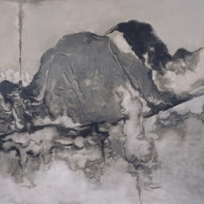 "27 Su Xinping Grey No.1 130×194cm 2012 290x290 - Pearl Lam Galleries Hong Kong presents group exhibition ""Spiritual as Mountains"""