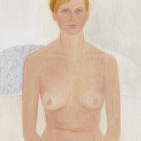 "29 Wu Yi, ""Studio No. 5"", oil on canvas, 32×22cm, 2013"