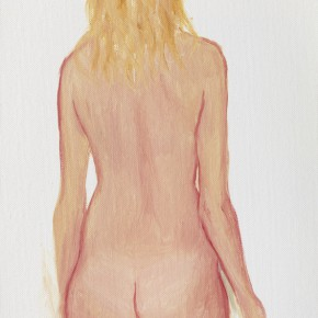 "30 Wu Yi, ""Studio No. 4"", oil on canvas, 32×22cm, 2013"