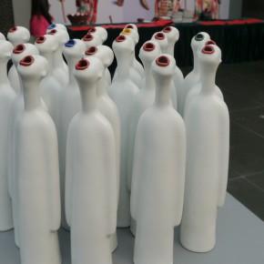 "30 Zhu Legeng, ""Ode"", ceramic"