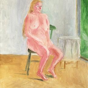 "33 Wu Yi, ""Studio No.10"", oil on canvas, 30×24cm, 2013"