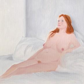 "34 Wu Yi, ""Studio No. 3"", oil on canvas, 32×22cm, 2013"