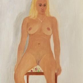 "36 Wu Yi, ""Studio No. 6"", oil on canvas, 30×25cm, 2013"