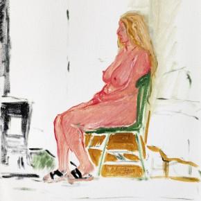 "37 Wu Yi, ""Studio No. 9"", oil on canvas, 30×24cm, 2013"