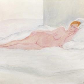 "39 Wu Yi, ""Studio No. 8"", oil on canvas, 24 × 30cm, 2013"