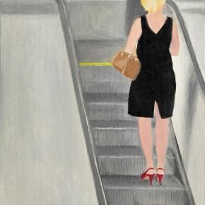 "43 Wu Yi ""The Subway"" oil on canvas 31 x 22.5 cm 2013 290x290 - Wu Yi"