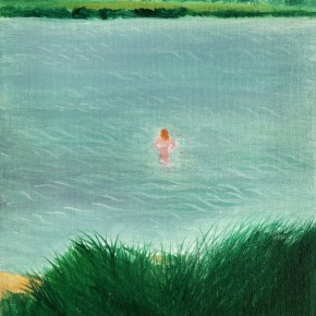 "48 Wu Yi, ""Klikov Piskovna No.1"", oil on canvas, 28.5 x 21.5 cm, 2013"