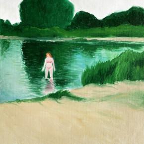 "49 Wu Yi, ""Klikov Piskovna No.5"", oil on canvas, 31.5 x 21.5 cm, 2013"