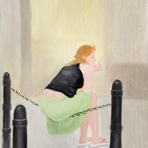 "5 Wu Yi ""A Break No.2"" oil on canvas 30cm×23cm 2013 290x290 - Wu Yi"