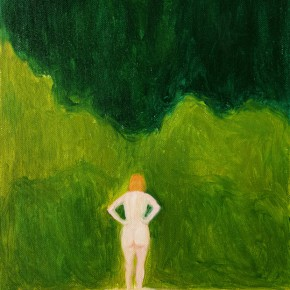 "50 Wu Yi, ""Klikov Piskovna No.4"", oil on canvas, 30 x 22 cm, 2013"