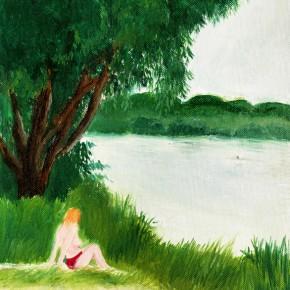 """51 Wu Yi """"Klikov Piskovna No.3"""" oil on canvas 32 x 22 cm 2013 290x290 - Wu Yi"""