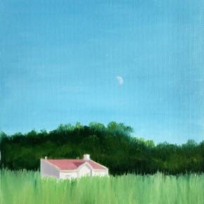 "52 Wu Yi, ""Klikov Piskovna No.6"", oil on canvas, 30 x 22 cm, 2013"