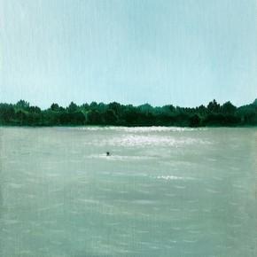 "53 Wu Yi, ""Klikov Piskovna No.2"", oil on canvas, 30 x 22 cm, 2013"
