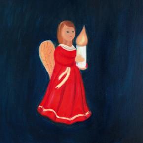 """57 Wu Yi """"Christmas No.3"""" oil on canvas 60 x 50 cm 2013 290x290 - Wu Yi"""