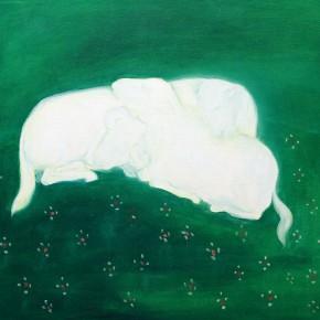 """58 Wu Yi """"Christmas No.6"""" oil on canvas 50 x 60 cm 2013 290x290 - Wu Yi"""