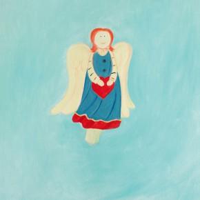 """59 Wu Yi """"Christmas No.7"""" oil on canvas 60 x 50 cm 2013 290x290 - Wu Yi"""