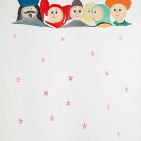 """60 Wu Yi """"Christmas No.4"""" oil on canvas 60 x 50 cm 2013 290x290 - Wu Yi"""