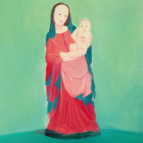 """62 Wu Yi """"Virgin Mary and Baby Jesus No.2"""" oil on canvas 60 x 50 cm 2013 290x290 - Wu Yi"""