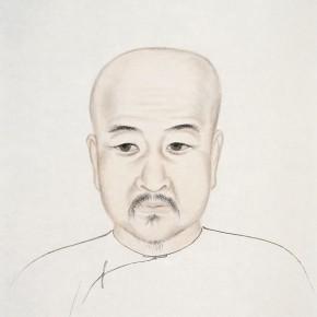 "69 Wu Yi ""Portraits of Ancient Sages – Portrait of Bao Guangding"" ink on paper 47 x 39 cm 2013 290x290 - Wu Yi"