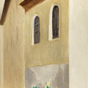 "7 Wu Yi, ""Maintenance"", 35 x 22 cm, oil on canvas, 2013"