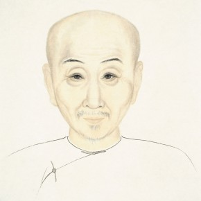 """70 Wu Yi """"Portraits of Ancient Sages – Portrait of Wang Anguo"""" ink on paper 2013 290x290 - Wu Yi"""