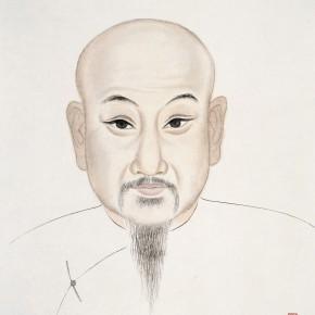 "73 Wu Yi ""Portraits of Ancient Sages – Portrait of Guo Shangxian"" ink on paper 47 x 40 cm 2013 290x290 - Wu Yi"