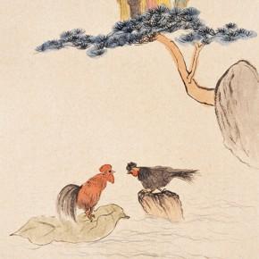 """82 Wu Yi """"Amusing Figure"""" ink on paper 70 x 46 cm 2011 290x290 - Wu Yi"""