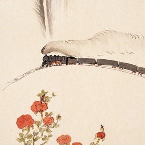 """84 Wu Yi """"Morning"""" ink on paper 66 x 44 cm 2011 290x290 - Wu Yi"""
