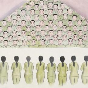 """93 Wu Yi """"Festival No.3"""" ink on paper 67 x 140 cm 2010 290x290 - Wu Yi"""