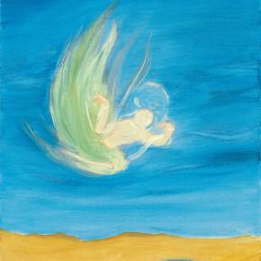 "97 Wu Yi ""Crescent Lake"" oil on canvas 50 x 40 cm 2010 290x290 - Wu Yi"