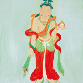 "98 Wu Yi ""Buddha"" oil on canvas 100 x 80 cm 2010 290x290 - Wu Yi"