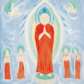 "99 Wu Yi ""Buddha"" oil on canvas 50 x 40 cm 2010 290x290 - Wu Yi"