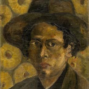 Chen Chengbo, Self Portrait, 1928; Oil on canvas, 41x31.5cm