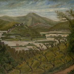 Chen Chengbo, Wuli Lake, 1931; Oil on canvas, 91x116cm