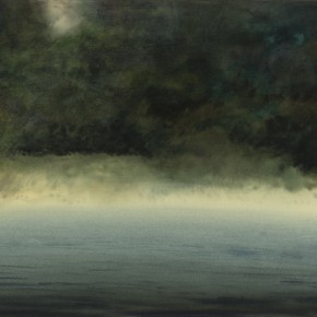 "Chen Jian At the River Bank on that Day paper work 67 x 98.5 cm 2012 290x290 - ""Spirit of Pristine"" solo exhibition of Chen Jian featuring his works on paper opened at Hubei Museum of Art"