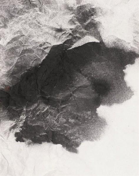Ding Bin, Imprint No.18, 420x330cm, Ink on paper, 2013
