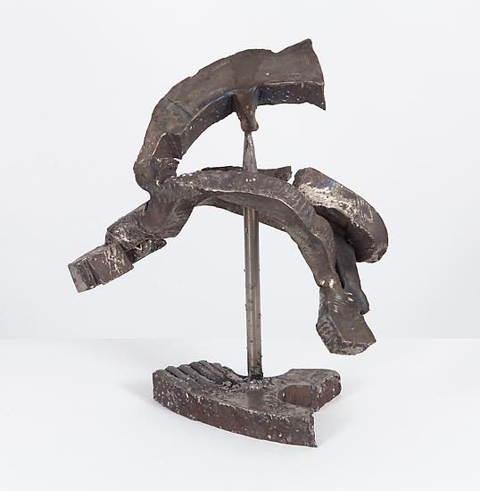 Mark di Suvero, Effin, 2008; Titanium, 33.0x25.4x15.2cm Courtesy Paula Cooper Gallery, New York and James Cohan Gallery, Shanghai