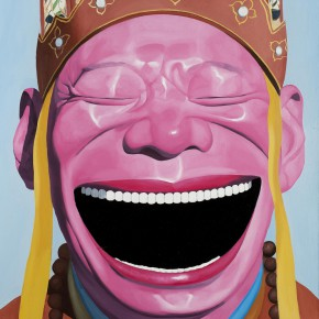 """Yue Minjun """"Journey to the West No.1"""" oil on canvas 100 x 80 cm 2011 290x290 - """"Big Face – New Works by Yue Minjun"""" Debuted at the Art Museum of Nanjing University of the Arts"""